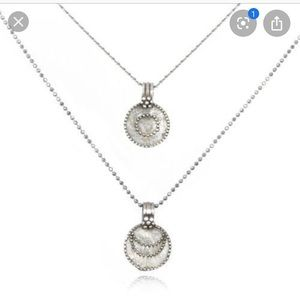 Satya Jewelry Jewelry - Satya Jewelry Silver Sun & Moon Necklace